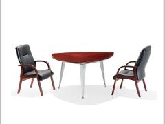 Hiboss实木会议桌(成周)简约办公桌时尚洽谈桌现代桌HI-T11C8305S