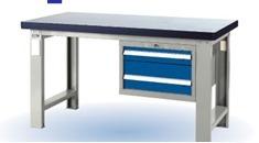SA-ZX02新品二抽工具桌 重型办公桌 防静电实验台 钳工操作台厂家