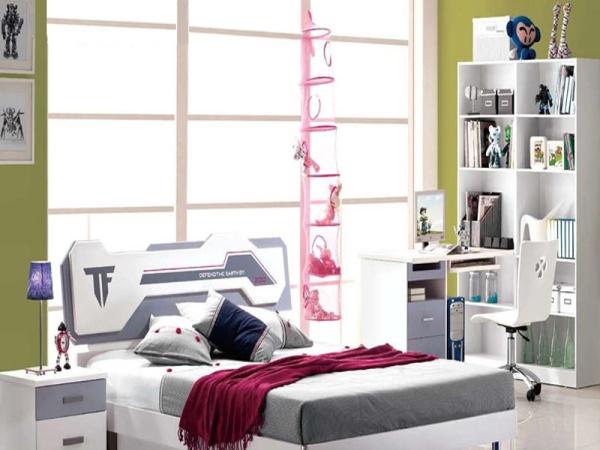 鹏景雅居 儿童家具套房男孩 卧室套装组合 王子房衣柜书桌 BG-18