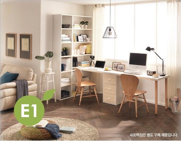 新款 韩式简洁加厚桌面 双人电脑桌 办公桌 书桌 写字台