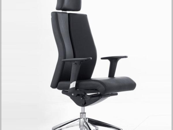 HiBoss 皮艺大班椅办公椅升降转椅时尚皮椅老板椅椅子ZY-K9119