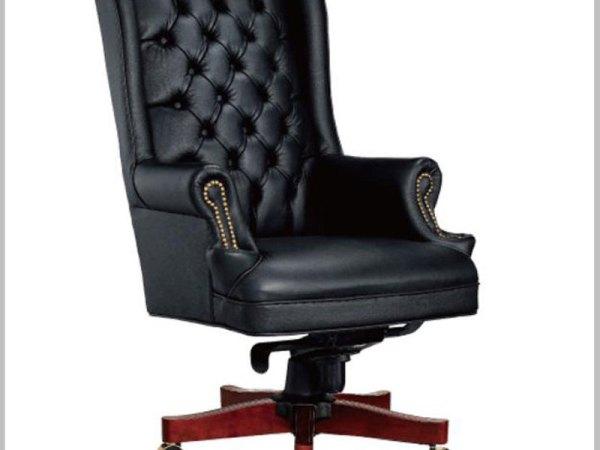 Hiboss真皮大班椅高档老板椅欧式椅子办公椅舒适休闲椅HI7111QL01