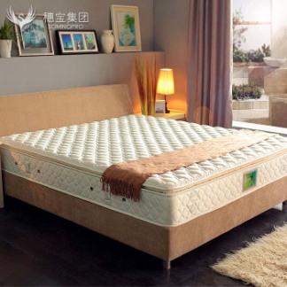 穗宝蒙高正品床垫 天然乳胶 山宁泰面料 单人双人床垫