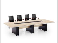 Hiboss板式会议桌(成杨)时尚办公桌多功能洽谈桌接待桌HIOS-C0136