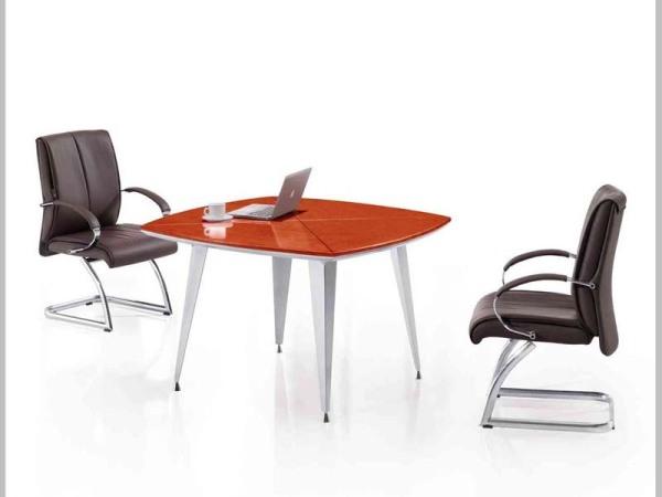 Hiboss实木会议桌(已周)简约洽谈桌办公现代桌会客桌HI-T11C311Y