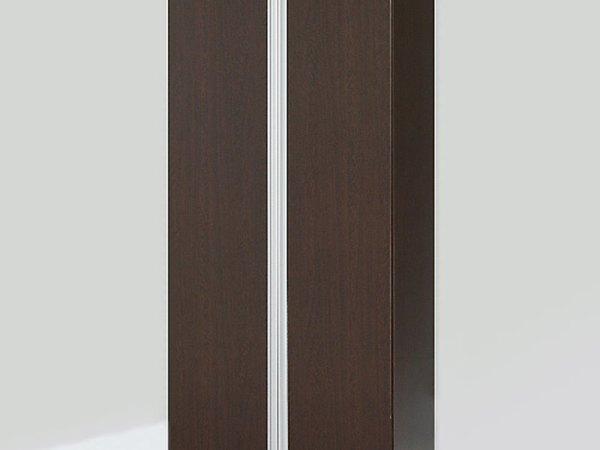 铝合金拉手对开门大衣柜组合 简易收纳衣橱 整体特价宜家柜 悠品