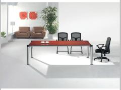 Hiboss实木会议桌(成周)现代办公桌洽谈桌简约桌子HI-T11C215-1H