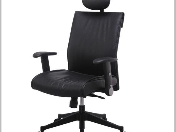Hiboss 皮艺大班椅高档升降转椅电脑老板椅办公椅HI7606138GEPS