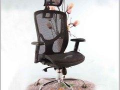 HiBoss网布大班椅特价升降老板椅转椅职员椅办公椅电脑椅 Y-EM3