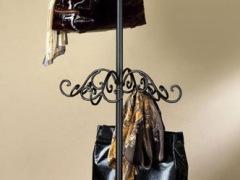 【荣谐】铁艺衣帽架 创意落地挂衣架 门厅衣架 包包架 欧式田园