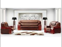 HiBoss真皮沙发商务沙发办公组合沙发简约沙发会客沙发ZY-SF2091