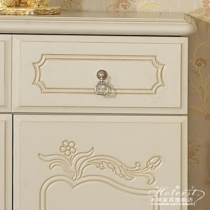欧式家具 法式鞋柜抽屉柜 家用装饰柜 玄关柜烤漆鞋柜图片