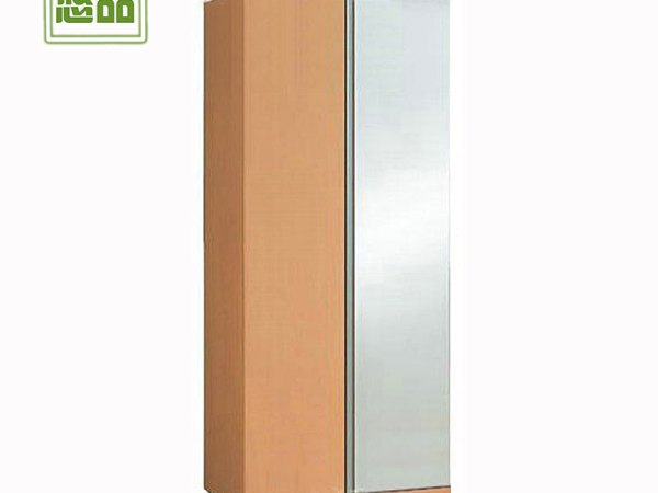 两门镜面大衣柜 宜家简易特价组合阳台木衣橱 定制做收纳柜 悠品