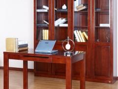 华日家具尚木之家现代水曲柳全实木书桌电脑桌写字台1.2米