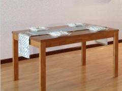 华日家具尚木之家水曲柳餐厅全实木餐桌1.6米饭桌H15831001