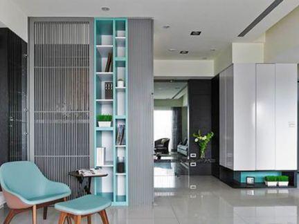 宜家风格两室一厅户型高档公寓装修效果图