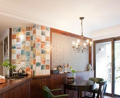 美式设计小餐厅效果图欣赏大全图片
