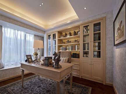 现代欧式家庭装修图片书房设计