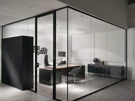 玻璃办公隔断墙
