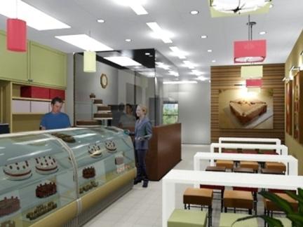 2017欧式蛋糕店装修效果图-房天下装修效果图图片