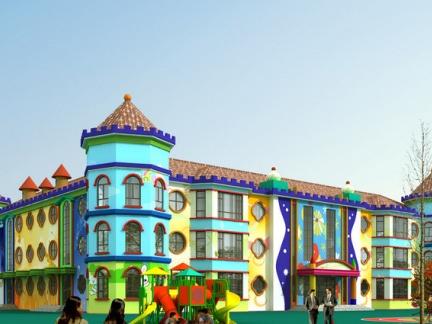 幼儿园主题外墙墙面设计图片大全