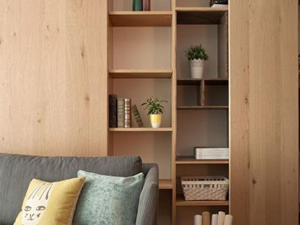 简约客厅组合储物柜图片