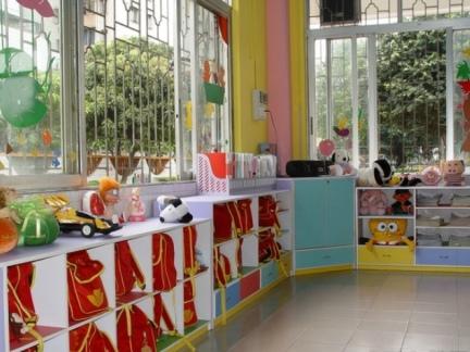 幼儿园教室墙面布置图