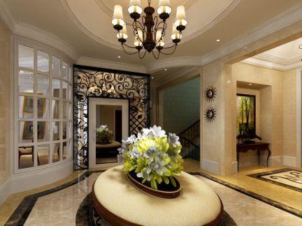 豪华别墅室内玄关设计效果图大全