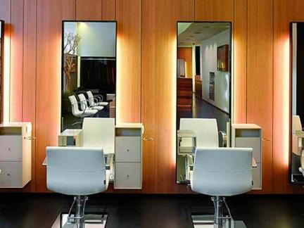 现代美发店设计装修效果图