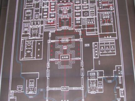 故宫博物院平面图装修