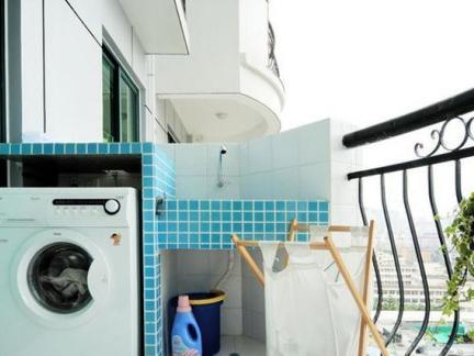 阳台洗衣池效果图片欣赏