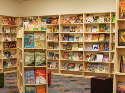 2017儿童书店图片 房天下装修效果图