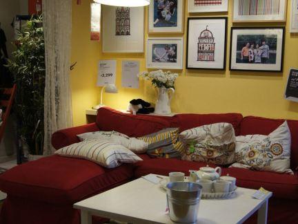 宜家客厅小户型沙发图片
