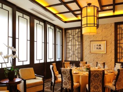 中式饭店包房装修效果图图片