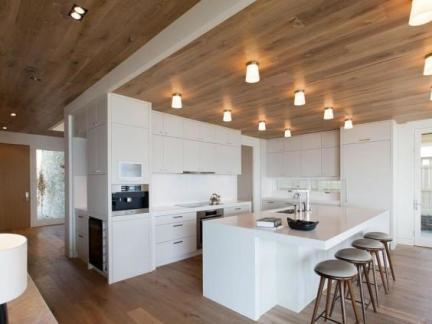生态木厨房吊顶效果图图片