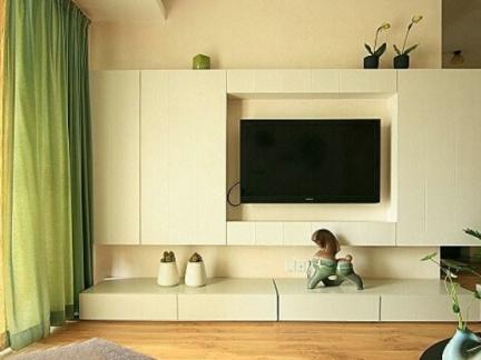 装修简单电视背景墙大全