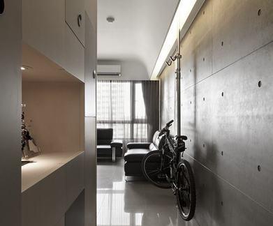 现代简约风格公寓过道室内设计图片