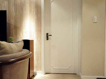 中式风格平开室内门装修效果图