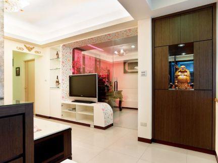 70平米两室一厅装修