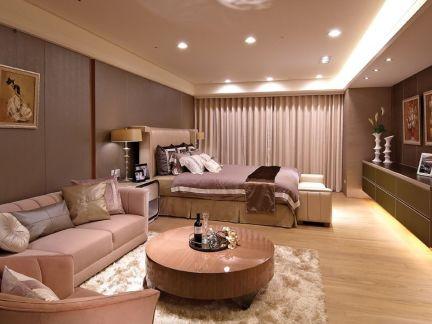 优雅大气混搭风格卧室整体设计装修