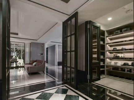 别墅阳台地板砖装修效果图家庭装修网别墅图片6