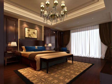 混搭中西合璧卧室装修案例