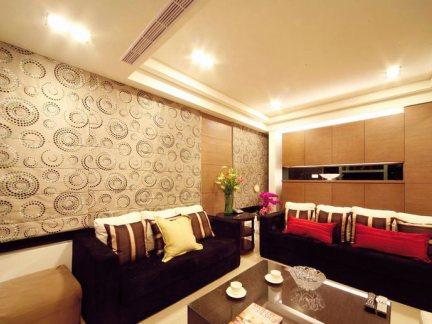 美式沙发背景墙装修