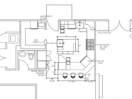 商用厨房设计平面图-2017房子设计平面图 房天下装修效果图图片