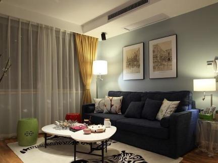 潮流混搭小户型家居装修案例