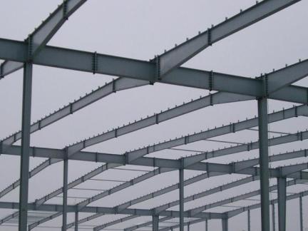 轻钢厂房钢构图片