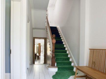 欧式家装房屋楼梯设计效果图-2018房屋欧式装修效果图大全 房天下装