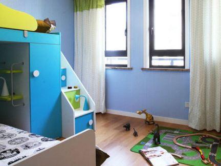 现代儿童房墙面涂料图片欣赏
