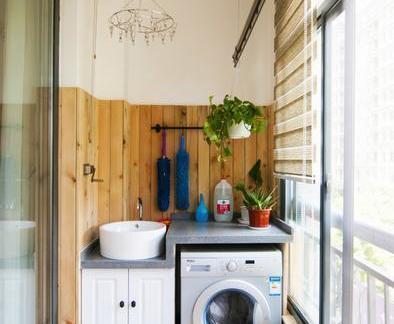 018小洗衣房装修效果图 房天下装修效果图