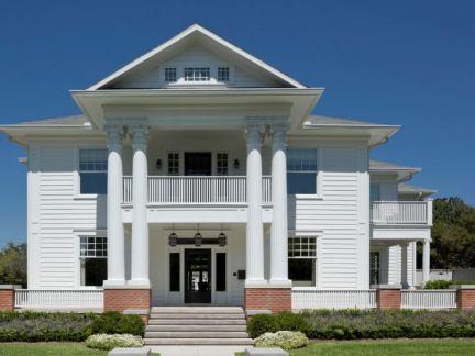 新古典主义建筑风格农村别墅